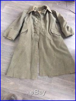 Capote mle 15 feldgrau datée 1916 troupe WW1