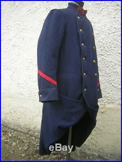 Capote piou-piou poilu 1914 reconstitution