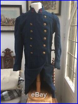Capote troupe Mle 1867 infanterie coloniale TC TDM datée 1885
