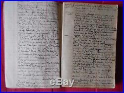 Carnet De Guerre Manuscrit D'un Poilu De 1914 A 1915