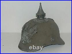 Casque A Pointe. Spike Helmet. Pickelhaube. Ersatz Mod 1915. Feutre