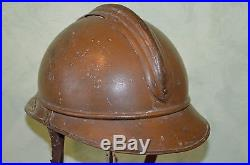 Casque Adrian 1915 Armee D'afrique-zouave-tirailleur-french Adrian Helmet 1°ww