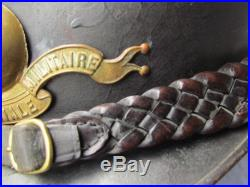 Casque Adrian 1915 D'officer De Saint Cyr Ecole Speciale Militaire Esm Ww1
