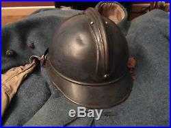Casque Adrian Infanterie Mdl 1915 1er type