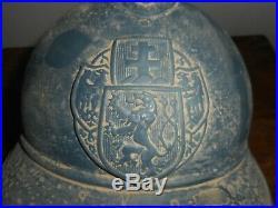 Casque Adrian Mle 1915 Tcheque Bleu Horizon