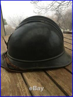 Casque Adrian Mle BH Infanterie Coloniale WW1 14-18