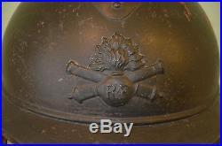 Casque Adrian Mod. 1915 Artillerie-french Adrian Artillery Helmet 1°ww