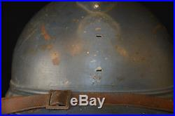 Casque Adrian Mod. 1915 Infanterie Coloniale -french Adrian Colonial Helmet