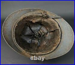 Casque Adrian Modèle 1915 Génie Poilu Ww1 14 18 French Helmet