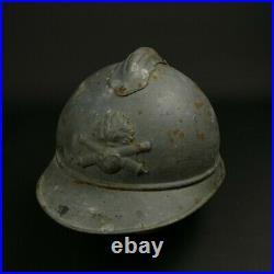Casque Adrian Modèle 1915 Gris Artillerie Poilu Ww1 14 18 French Helmet