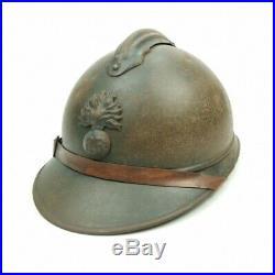Casque Adrian Modèle 1915 Infanterie Poilu Ww1 14 18 French Helmet