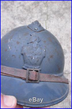 Casque Adrian pour le Génie guerre 14-18 WW1