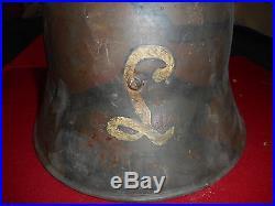 Casque All / Autichien Mle 1917 Camoufler De La Garde