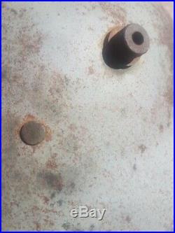 Casque Allemand M16 WW1 Gris Bateau Provenance Challans (ile DYeu)