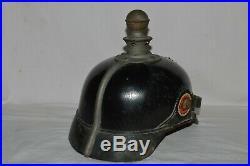 Casque Allemand Mod. 1915 Artillerie-saxe-german Helmet Artillery 1°ww
