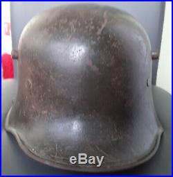 Casque Allemand Modele 1916. Complet. Pur Jus