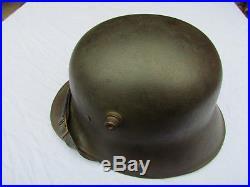 Casque Allemand Modele 1916 Stahlhelm Original Ww1 Landser