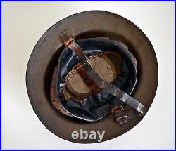 Casque Anglais Ww1 Brodie 100% Jus Mk1 14 18