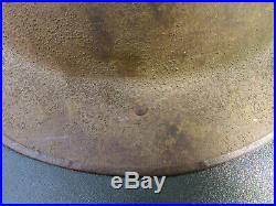Casque Brodie Anglais 1914-1918 Original Ww1 Tommy