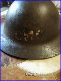 Casque Brodie Anglais 1915 Bataille De La Somme GB Ww1