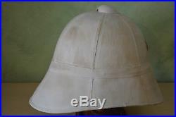 Casque Colonial Mod. 1886 De Spahis-cavalerie D'afrique-tenue Mod. 1901 De Spahis