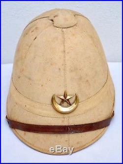 Casque Colonial Pain De Sucre Modèle 1886 Spahi