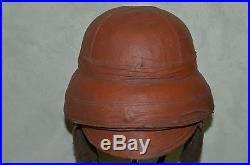 Casque Francais D'aviateur Mod. Roold -rare French Aviation Helmet-aeronautique