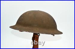 Casque US 17 WW1 BRODIE USA 14-18 TRANCHEE POILU VERDUN ARTOIS MARNE DOUAUMONT