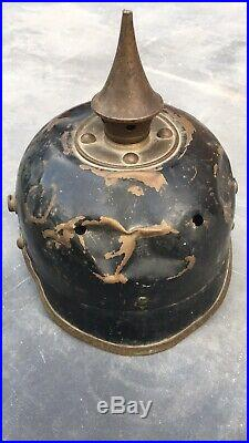 Casque à Pointe Ersatz Pickelhaube Spike Helmet