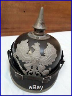 Casque a Pointe Prussien WW1