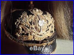 Casque à pointe Bavarois modèle 1896
