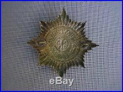 Casque à pointe Plaque Prusse garde 1895 Pickelhaube Spiked helmet