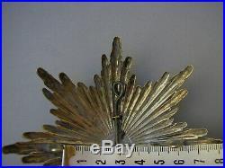 Casque à pointe Plaque Saxe garde pionnier Pickelhaube -Spiked helmet