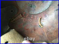 Casque à pointe Prusse allemand WW1 JR57 100% authentique