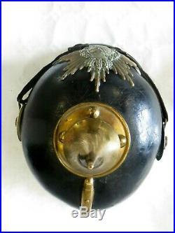 Casque à pointe, Spikelmet, pickelhaub Casque Saxon du 106 ème Rég Inf. Mod1895