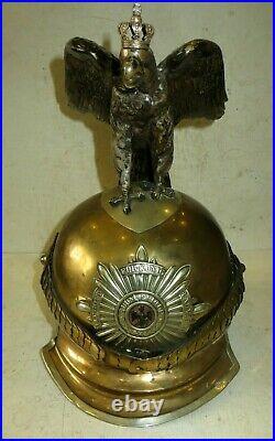 Casque à pointe, Spikelmet, pickelhaub Casque de Garde-du-Corps modèle 1867