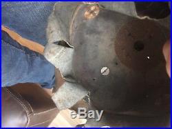 Casque à pointe badois modele 15 mle fer Pickelhaube Helmet