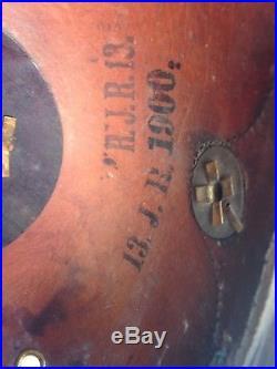 Casque à pointe bavarois pickelhaube spiked helmet 1914