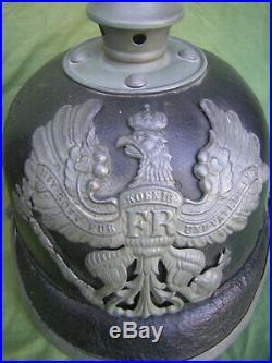 Casque à pointe prussien BA VII 1916