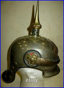 Casque à pointe, spikehelmet, pickelhaub Casque Officier de Cuirassier modèle 95