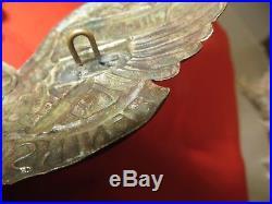 Casque à pointe, spikelmet, pickelhaubRarissime plaque du 13 ème Rgt. Uhlans
