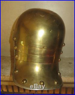 Casque à pointe, spikhelmet Coque casque Garde du Corps, Cuirassier. Belle copie