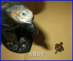 Casque à pointe, spilkelmet, pickelhaub Aigle casque de Garde du Corps. Argenté