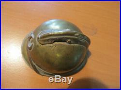 Casque adrian miniature artisanat de tranchée 14 18 insigne colonial