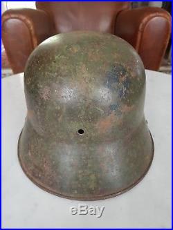 Casque allemand Stahlhelm modèle 1916 ww1 helmet 1914 / 18 très bel état grenier