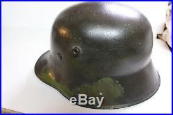 Casque allemand brancardier WW1