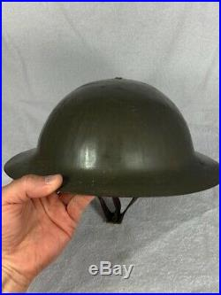 Casque brodie à identifier officier trench WW1 1916 Somme Flandres Ypres