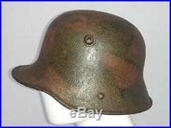 Casque camoufler allemand 1914 1918