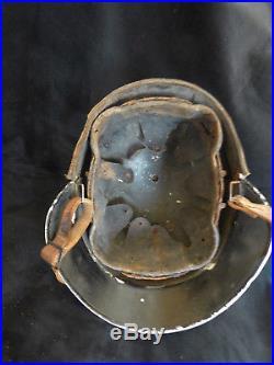 Casque de chasseur Porté Mécanisé en Aliminium 1918