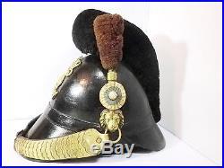 Casque à pointe Chasseur Bavarois Allemand Prussien Empire Napoléon 14-18 19ème